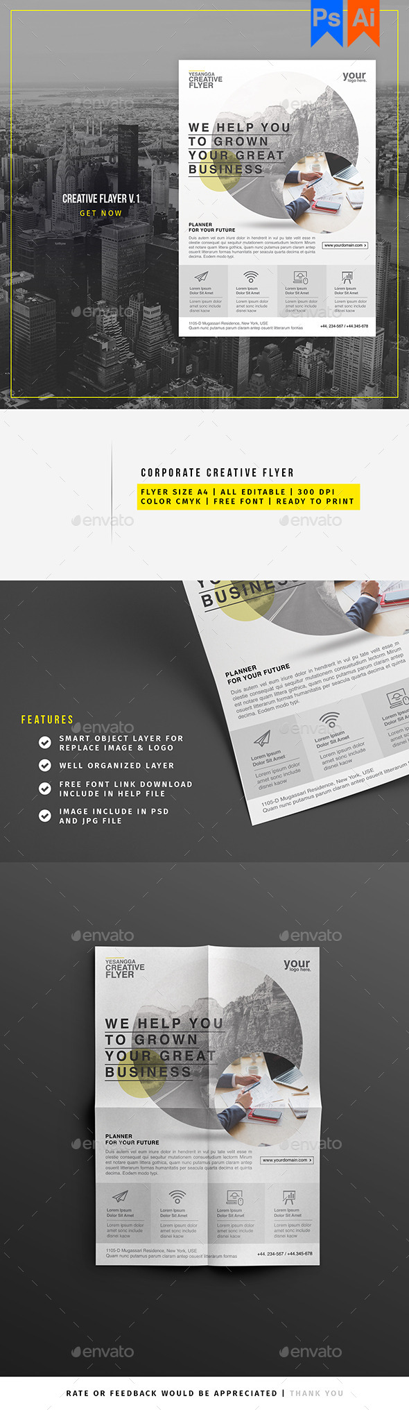 Corporate Creative Flyer - Corporate Flyers