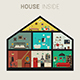 House in Cut - GraphicRiver Item for Sale