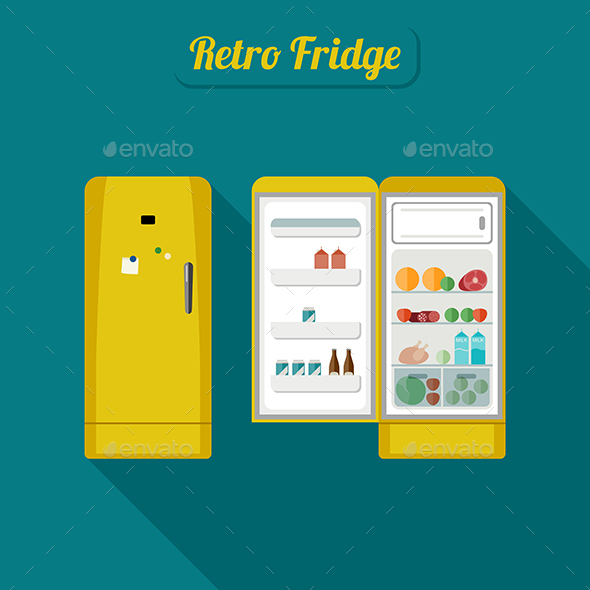 Retro Fridge - Retro Technology