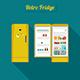 Retro Fridge - GraphicRiver Item for Sale