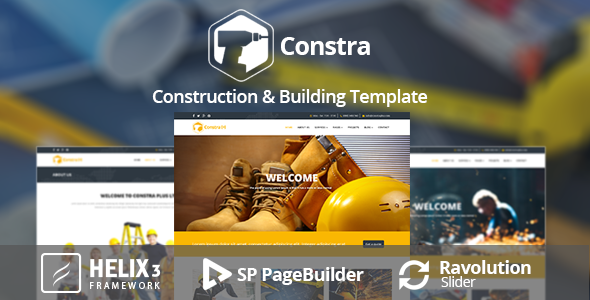 Constra - Construction & Building Template
