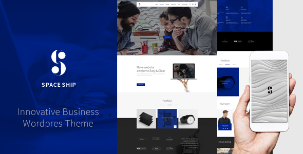 Spaceship – Multipurpose WordPress Theme