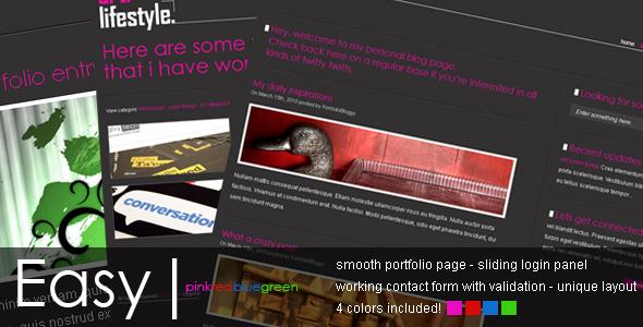 Free Download Easypink - Easy yet modern portfolio Nulled Latest Version