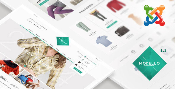 Modello – Multipurpose  Joomla  VirtueMart Theme