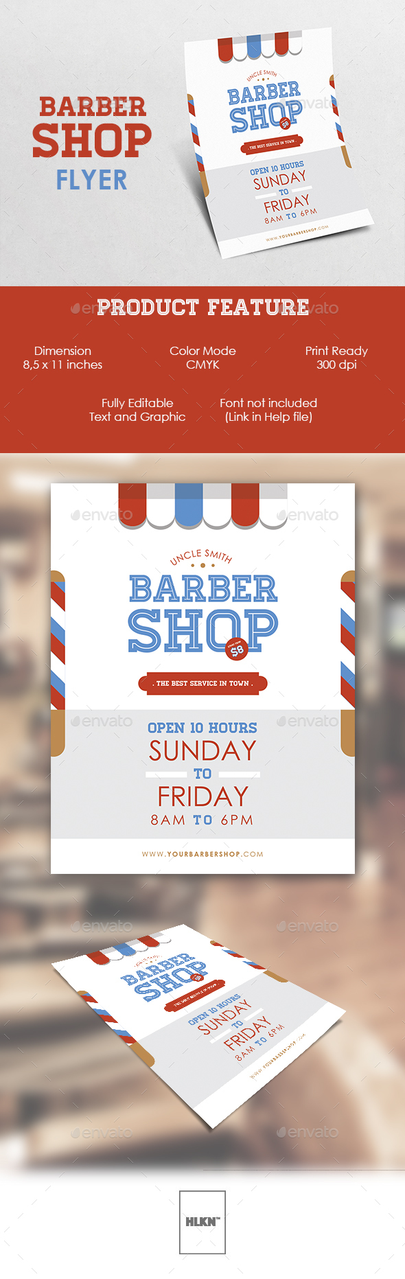 Barbershop Flyer - Commerce Flyers