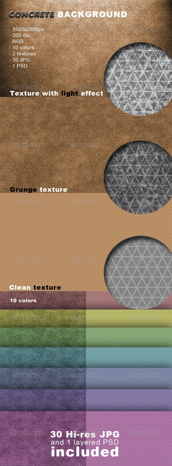 Concrete Background - Patterns Backgrounds