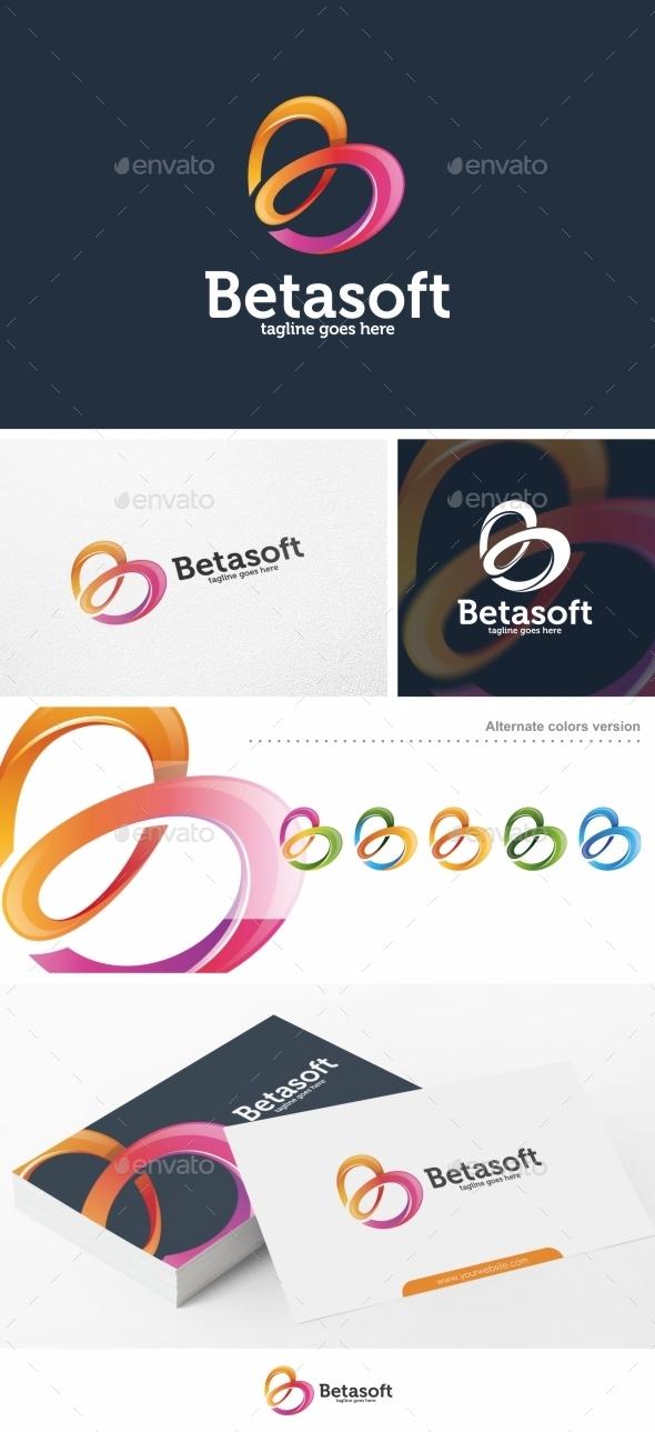Betasoft / Letter B - Logo Template - Letters Logo Templates