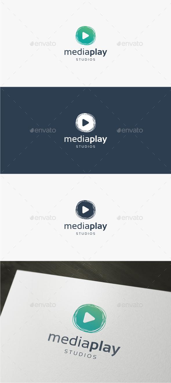 Media Play - Logo Template - Symbols Logo Templates