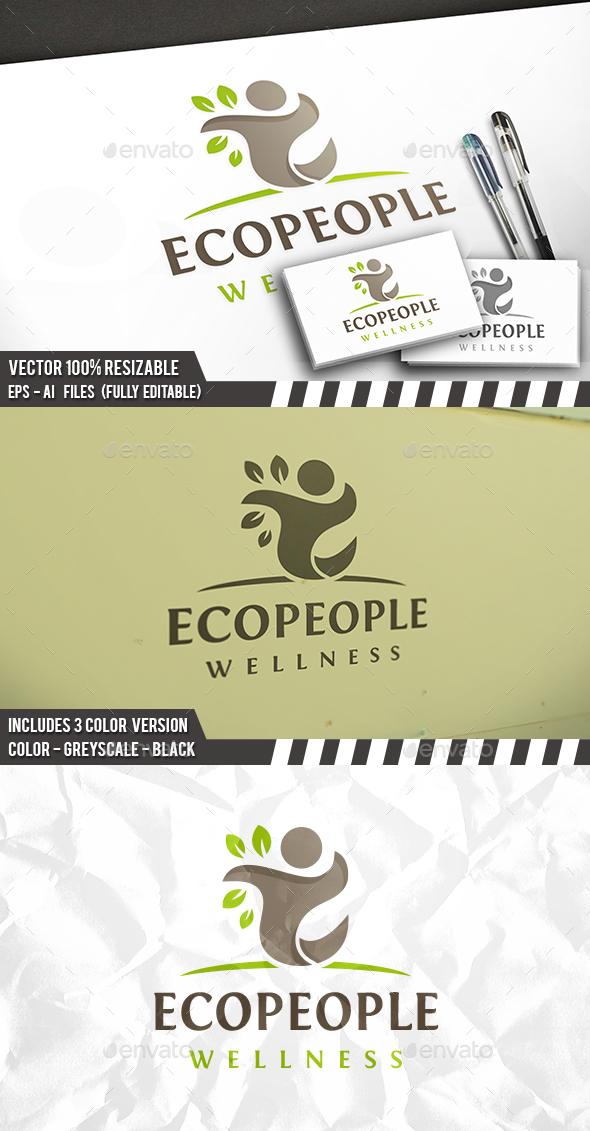 People Tree Logo - Nature Logo Templates