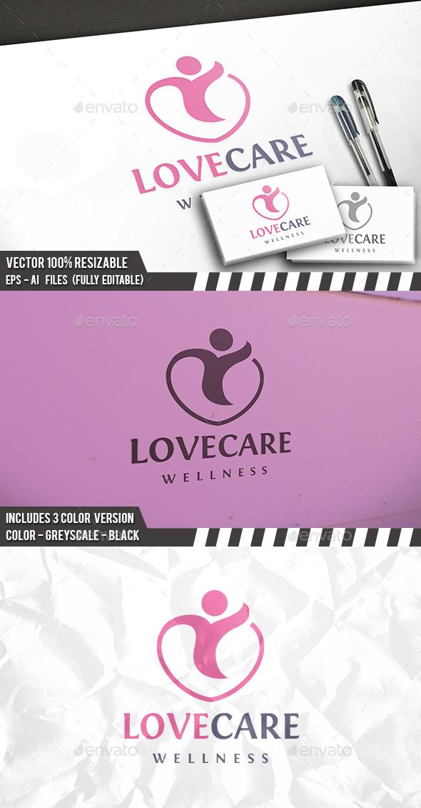 Heart Care Logo - Humans Logo Templates