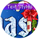 Christmas Vol. 3 - Text Styles - GraphicRiver Item for Sale
