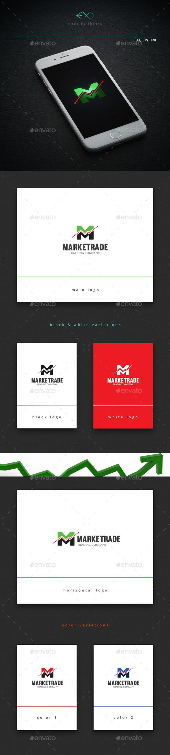 Marketrade - Letters Logo Templates