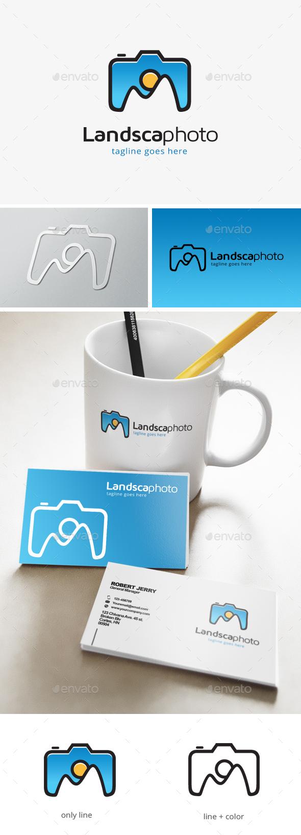 Landscape Photography Logo - Objects Logo Templates