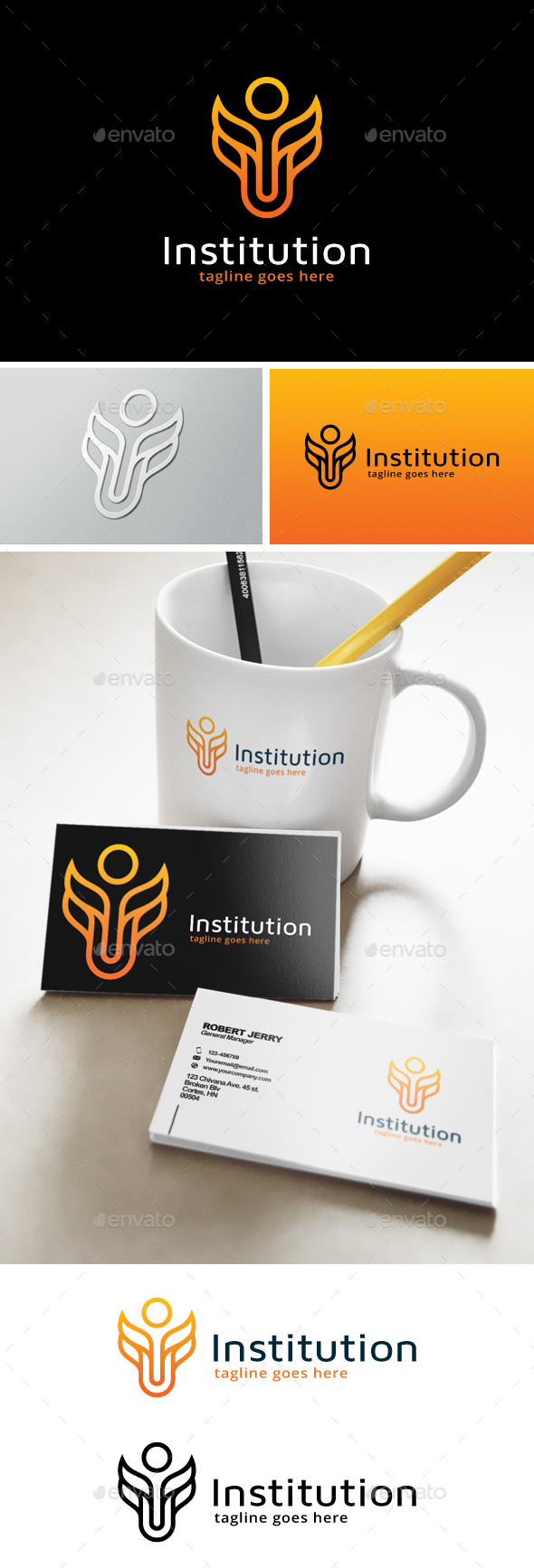 Institution Logo - Abstract Logo Templates