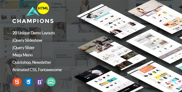 Champion –  MultiPurpose eCommerce HTML5 Template