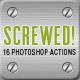 22 Vintage Letterpress Photoshop Actions - 4