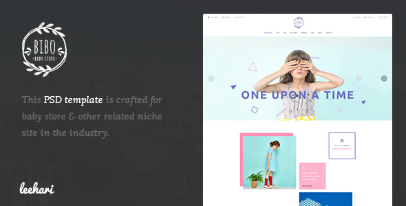 Bibo – Baby Store PSD Template