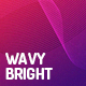 Wavy Bright Backgrounds - GraphicRiver Item for Sale