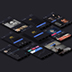 Dark UI Kit - GraphicRiver Item for Sale
