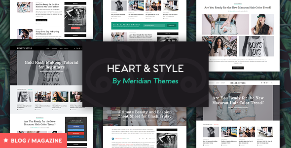 Heart & Style – Blog/Magazine WordPress Theme