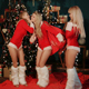 Three Sexy Blondes Preparing Christmas Gifts - VideoHive Item for Sale