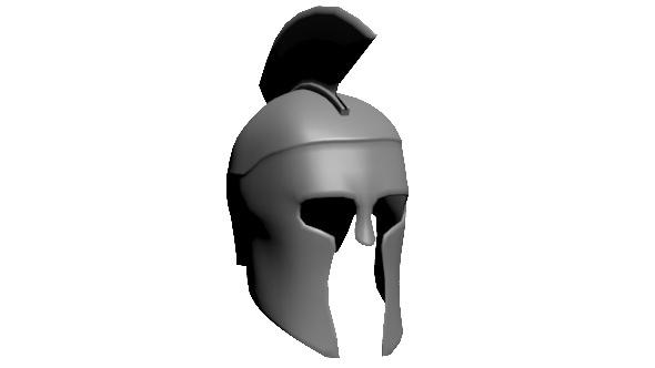 Warrior Helmet - 3DOcean Item for Sale