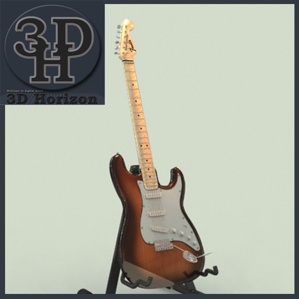 Fender Stratocaster - 3DOcean Item for Sale