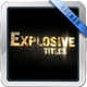 Explosive Titles Trailer HD - VideoHive Item for Sale