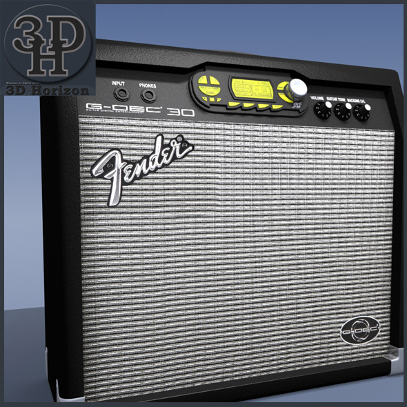 Fender Guitar Amp - 3DOcean Item for Sale