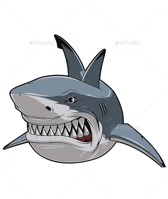 White Shark - Animals Characters