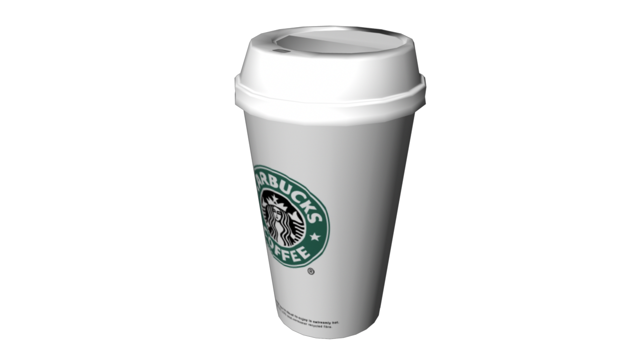 Starbucks Coffee By Fiveaxiomsinc 3docean