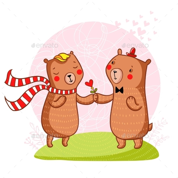 Bear in Love - Valentines Seasons/Holidays