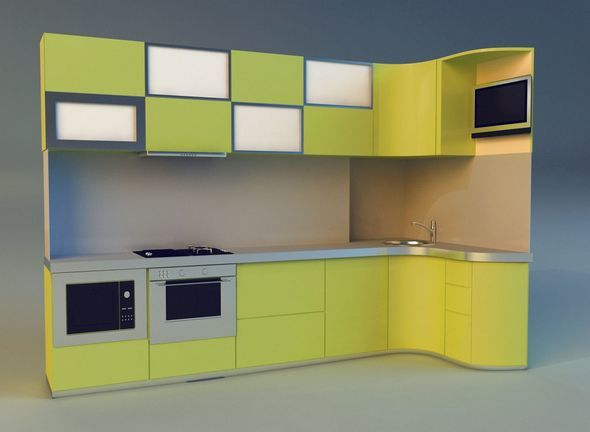 Kitchen 4 - 3DOcean Item for Sale