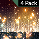 Glowing Particles and Rays-4 Pack - VideoHive Item for Sale
