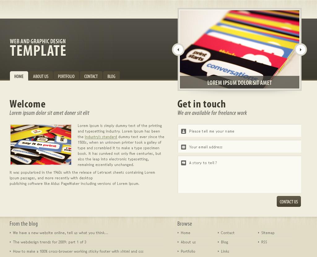 Free Download Dark brown portfolio theme Nulled Latest Version