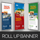 Travel Roll Up Banner Signage Design v1 - GraphicRiver Item for Sale