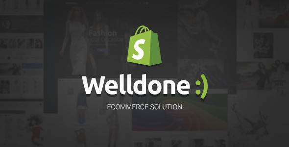 Welldone - Material Responsive Shopify Theme - Shopping Shopify