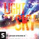 Light Up The Sky Church Flyer