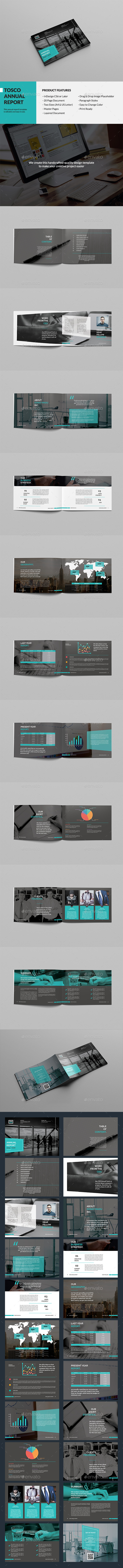 Tosco Landscape Annual Report - Corporate Brochures