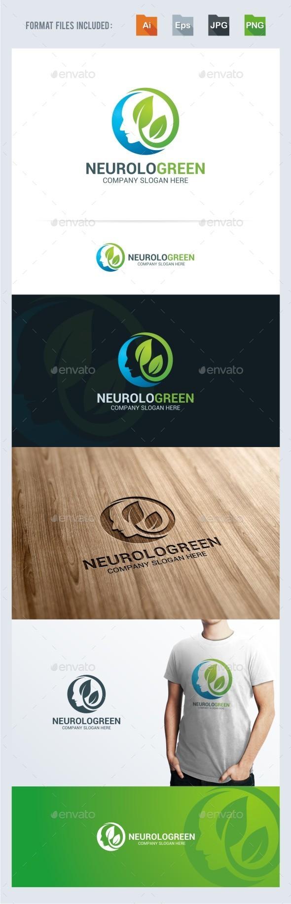 Neurology Logo Template - Humans Logo Templates