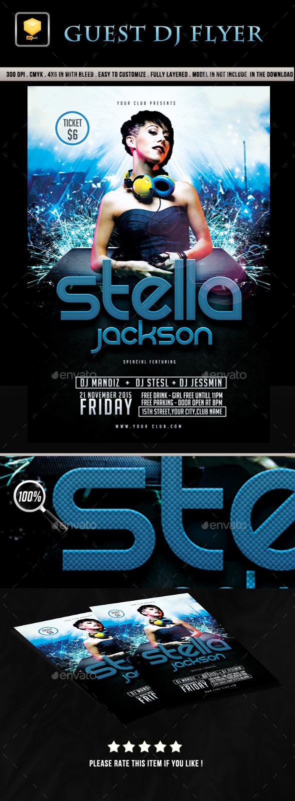 DJ Event Flyer - Clubs & Parties Events