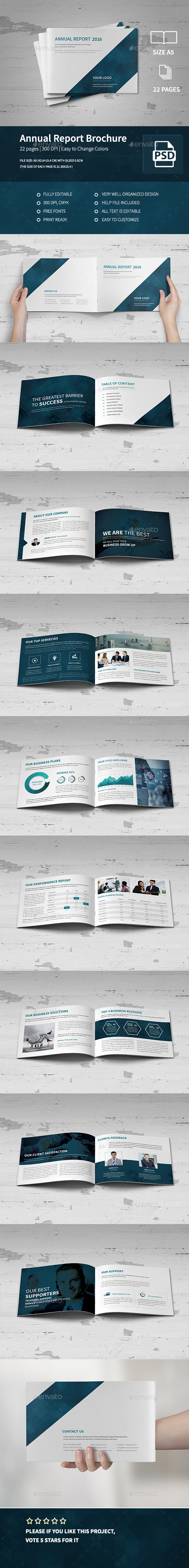 Annual Report Brochure 2016 - Corporate Brochures