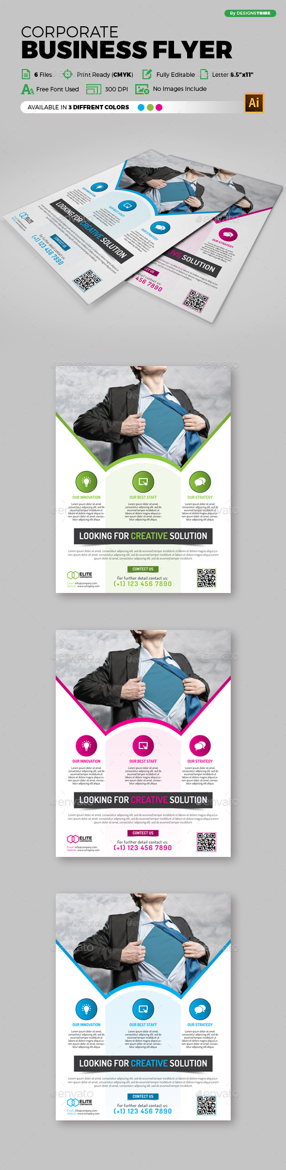 Flyer - Multipurpose 105 - Flyers Print Templates