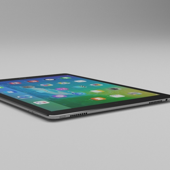Low Poly iPad Pro