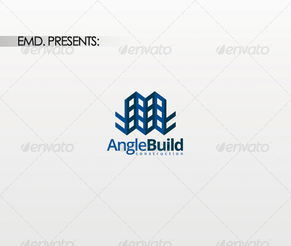 Angle Build Logo - Buildings Logo Templates