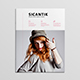 Sicantik Minimal Woman Magazine Template - GraphicRiver Item for Sale
