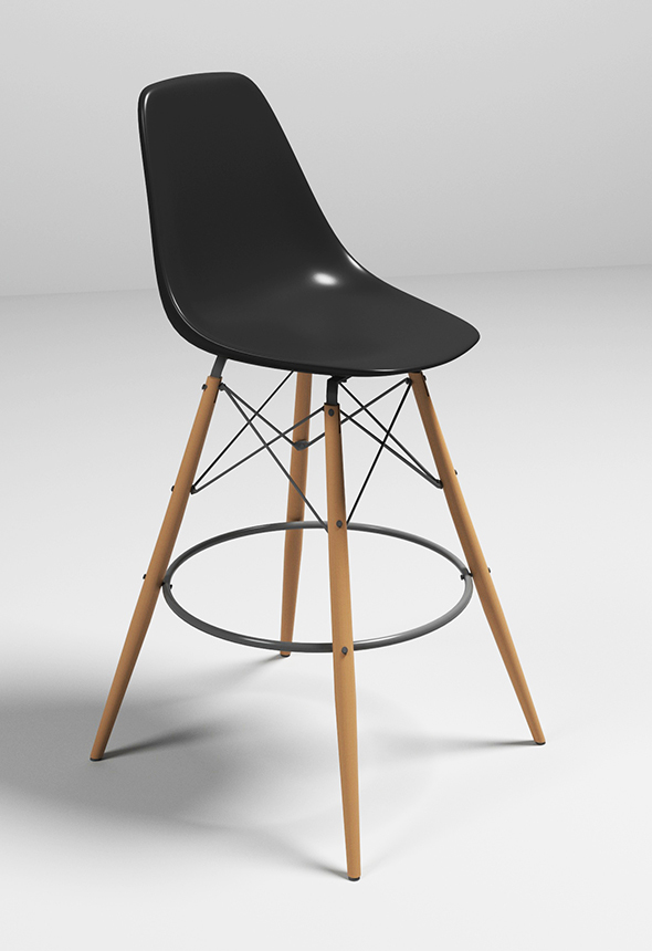 Eames Bar Chair - 3DOcean Item for Sale