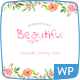 Beautiful Floral Watercolor - Blog & Shop Nulled