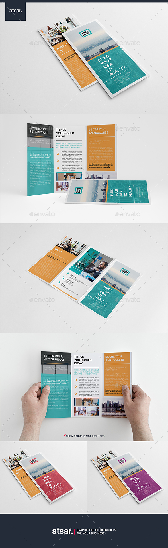 Simplest Business Trifold - Corporate Brochures