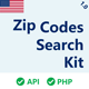US Zip Codes Search Kit